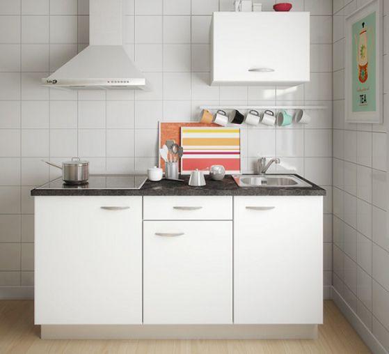 cocina pequeña prefabricada
