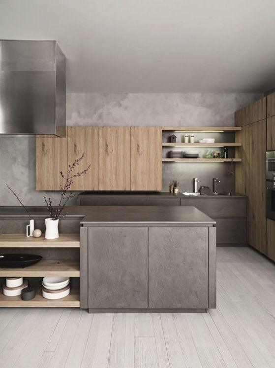 cocinas integral de concreto