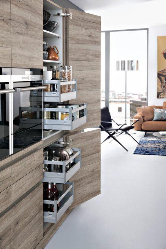 Cocinas integrales modernas grandes y pequeñas para el 2019