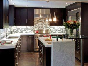 Cocinas integrales modernas grandes y pequeñas para el 2020