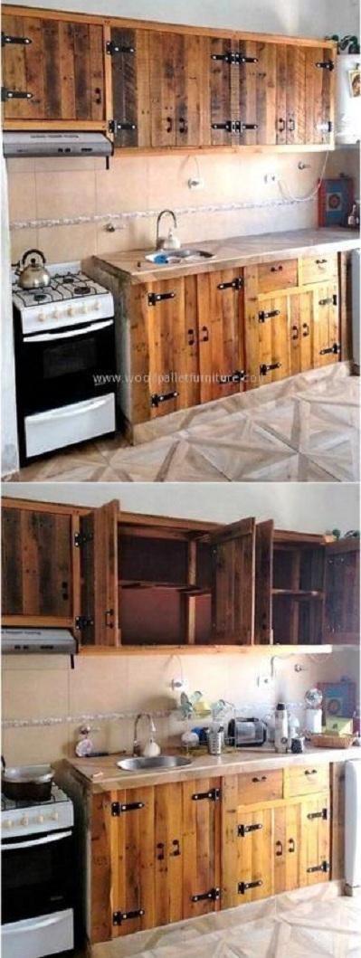 muebles de cocina dise os modernos de madera colgantes