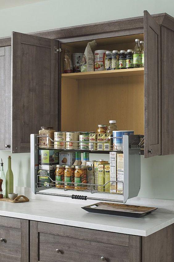 Muebles de Cocina, diseños Modernos, de Madera, Colgantes ...