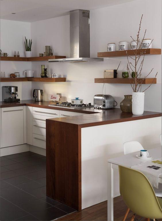 Muebles de cocina dise os modernos de madera colgantes for Aereos de cocina