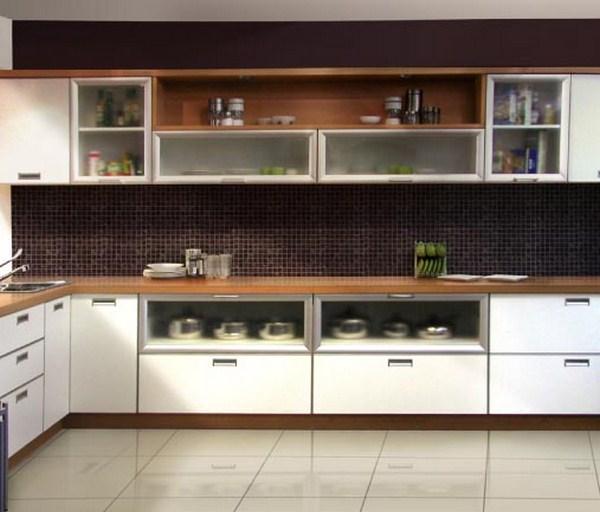Muebles de cocina dise os modernos de madera colgantes for Modelos de muebles para cocina en melamina