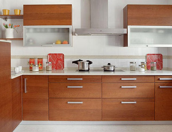 Muebles de cocina dise os modernos de madera colgantes for Muebles de cocina de madera modernos