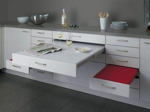 Muebles de Cocina, diseños Modernos, de Madera, Colgantes, Elegantes