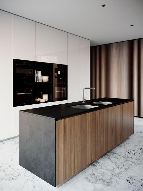 Muebles de cocina dise os modernos de madera colgantes for Diseno de muebles de madera modernos