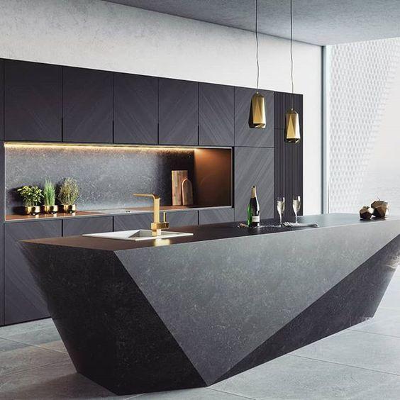 Muebles de cocina dise os modernos de madera colgantes for Muebles cocina modernos fotos
