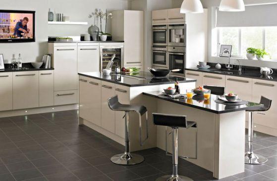 Cocinas Empotradas grandes, pequeñas, modernas y sencillas 2019
