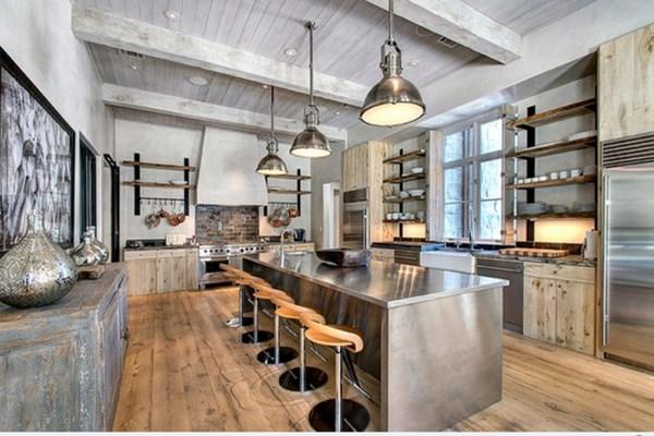 cocina industrial contemporanea