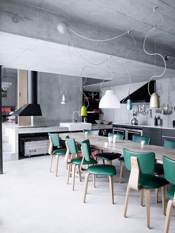 cocina industrial para la casa
