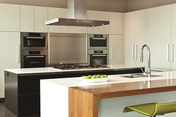 cocina lujosa minimalista