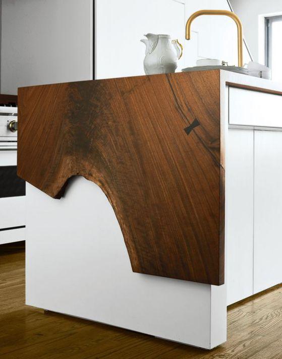 cocina mesa lateral extensible