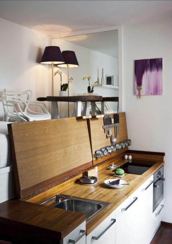 cocina plegable moderna