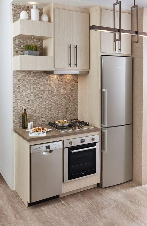 Cocinas empotradas grandes peque as modernas y sencillas for Muebles para cocina baratos
