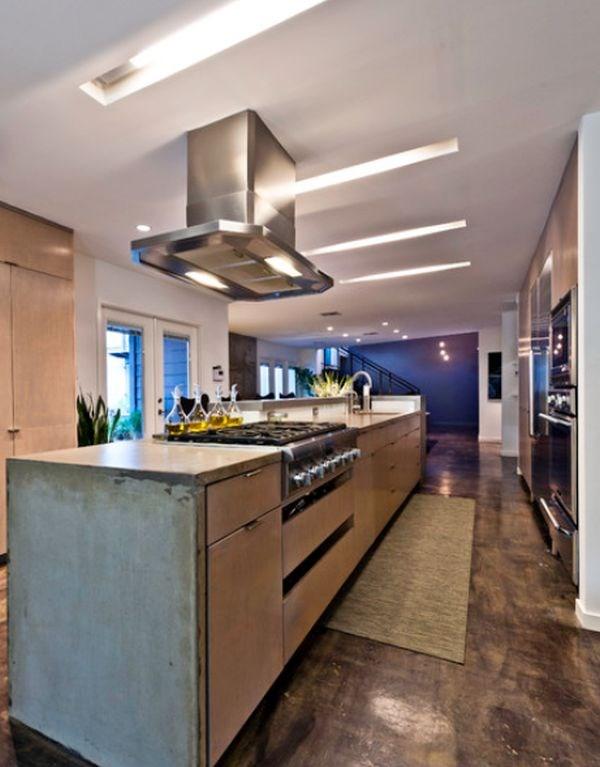 cocinas industriales diseño largo
