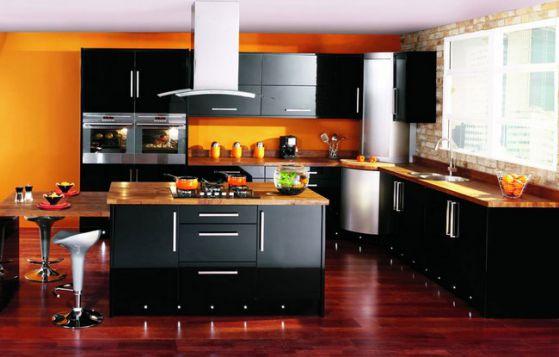 Cocinas empotradas grandes peque as modernas y sencillas - Imagenes de cocinas integrales pequenas modernas ...