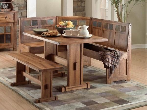 hermosa mesa de madera para poner en la cocina