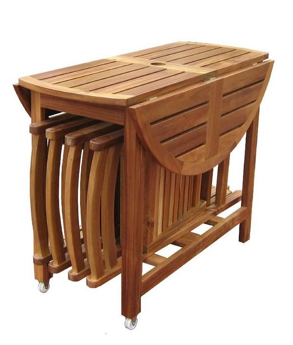 Mesas De Cocina Plegables Pequeñas Rústicas Modernas Y Más