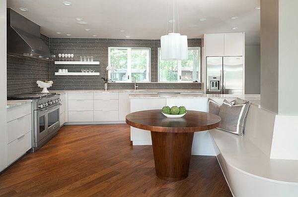 mesa de madera para cocinas