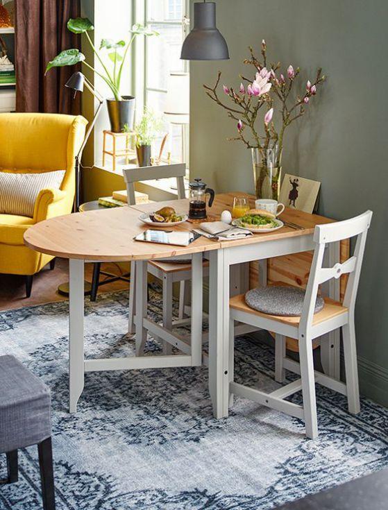 mesa extendible para comedor