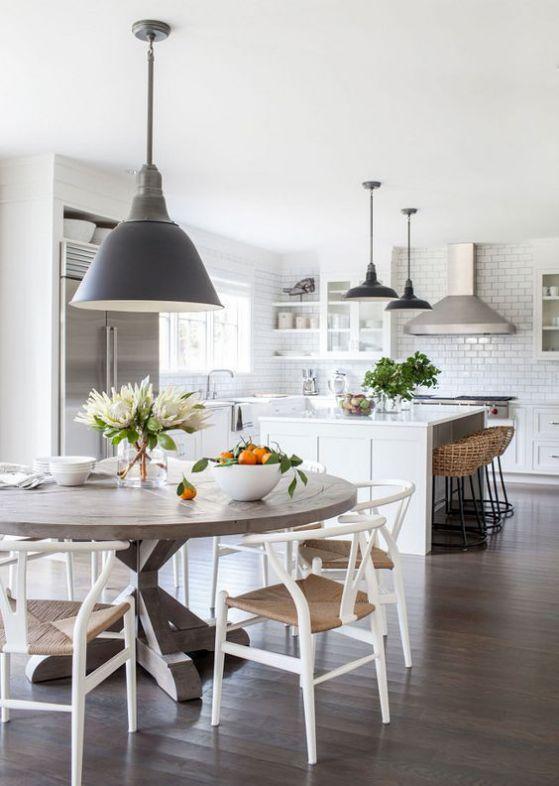 Mesas De Cocina Plegables Peque 241 As R 250 Sticas Modernas Y M 225 S