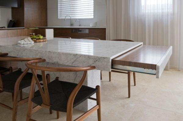mesa moderna para cocina