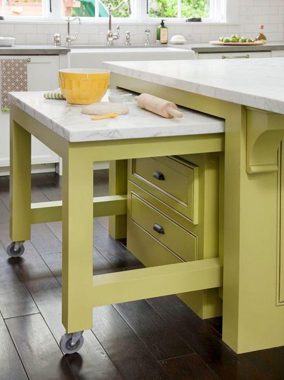 mesa oculta cocina