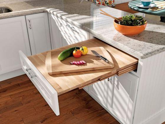 mesa oculta para cocinas integrales