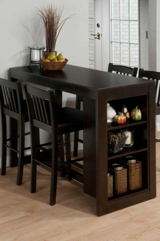 mesa pequeña 4 puestos para cocina