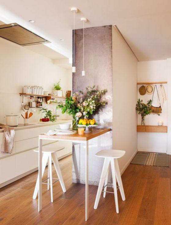 mesa pequeña rectangular cocina