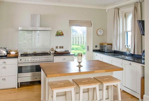 mesas de cocina con taburete
