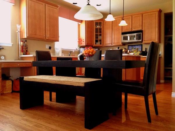 mesas de cocina elegantes