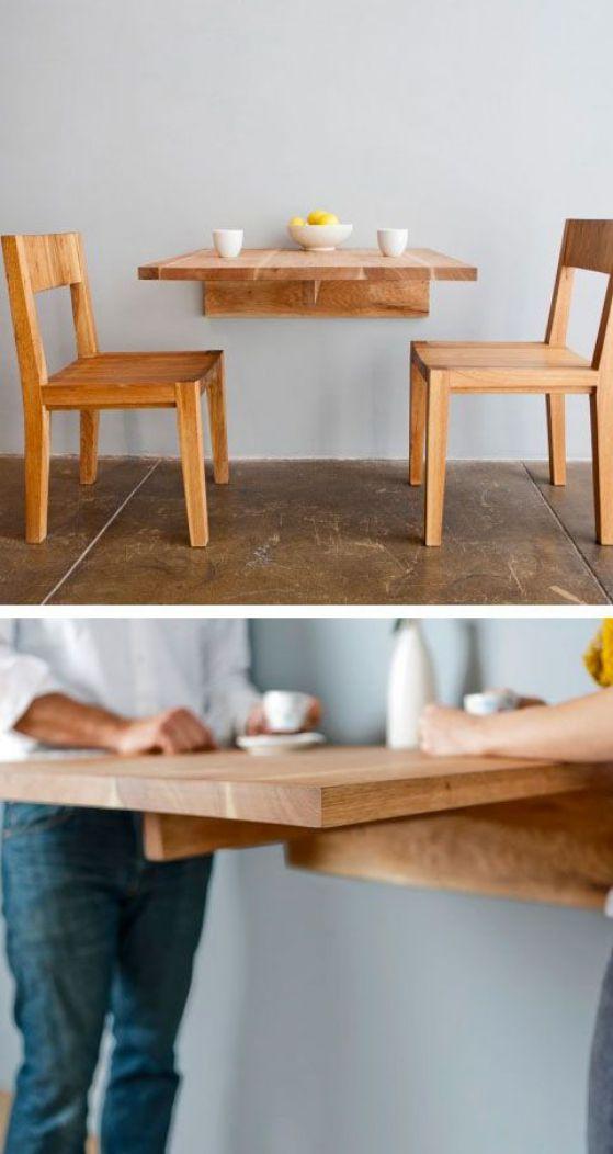 Mesas de cocina plegables peque as r sticas modernas y m s - Mesas de cocina rusticas ...