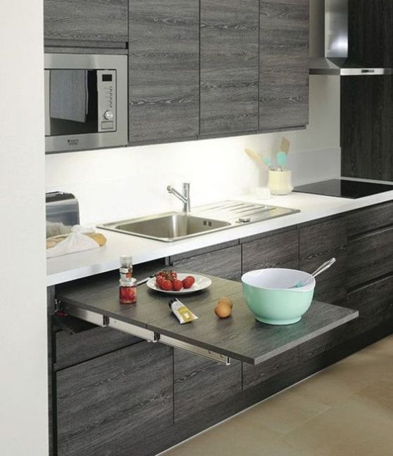 Cocinas empotradas grandes peque as modernas y sencillas for Cocinas modernas para apartamentos
