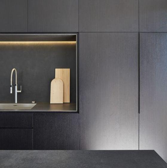 Cocinas minimalistas modernas peque as y grandes estilos 2018 for Estilos de cocinas modernas pequenas