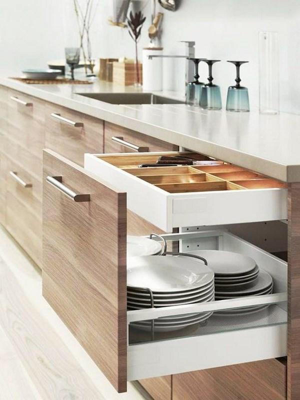 7 consejos tiles para que tus cocinas peque as luzcan for Utiles de cocina