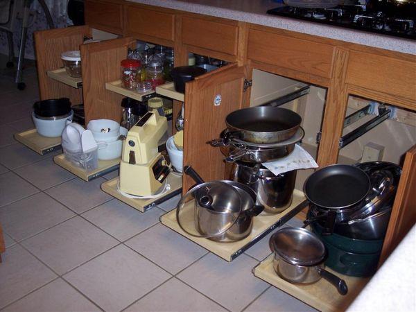 aprovechar espacios profundos en la cocina