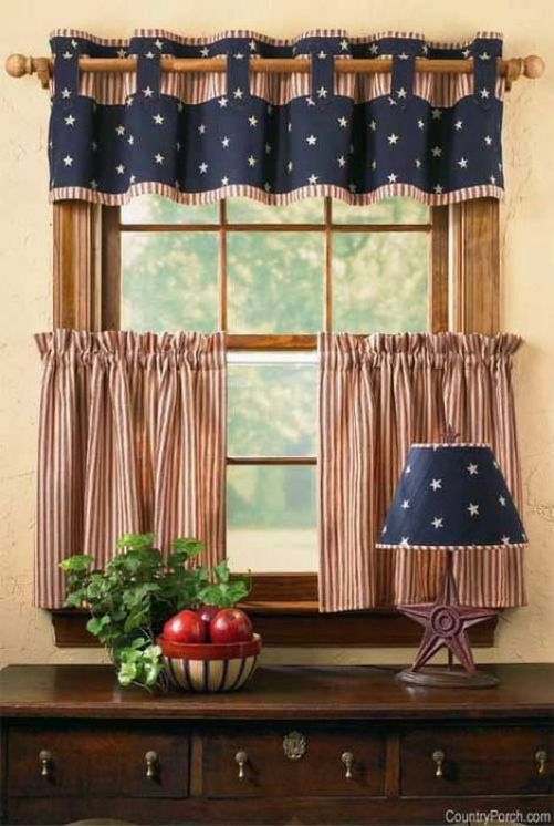 bonitas cortinas de cocina