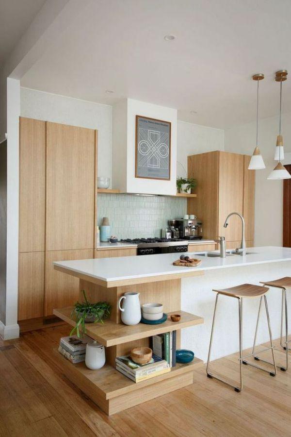 bonitos gabinetes cocina