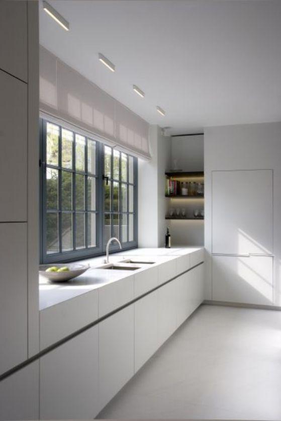 cocina elegante y minimalista
