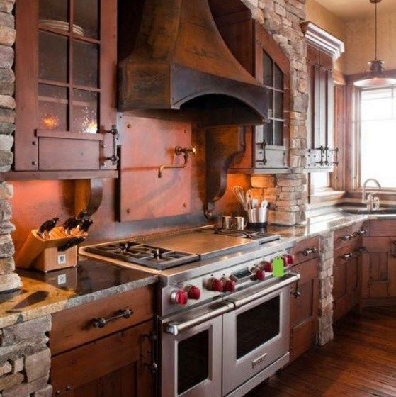 Muebles de madera rusticos para cocina simple cocina - Muebles rusticos de cocina ...
