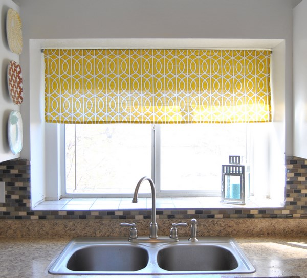 Wood Valance Over Kitchen Sink: Cortinas Para Cocinas Diseños Rústicos, Modernos