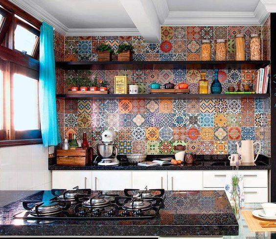 Cocinas r sticas de madera piedra ladrillo y dise os for Piedra barata para paredes