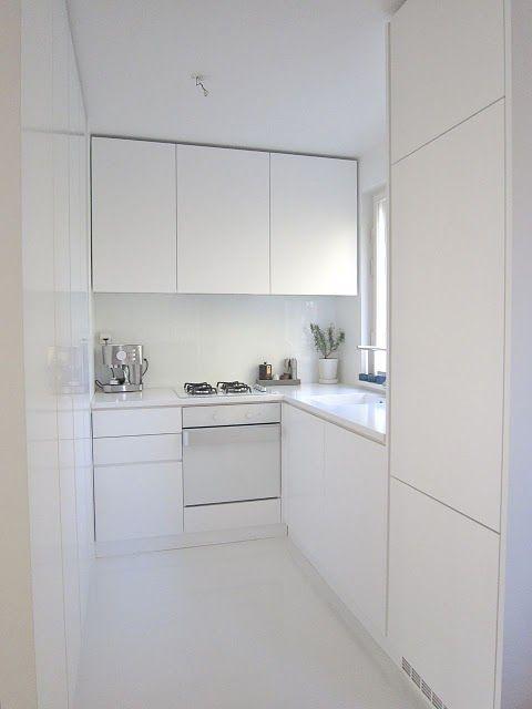 Cocinas minimalistas modernas peque as y grandes estilos 2018 - Cocinas pequenas minimalistas ...