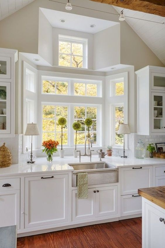 Cocinas Rústicas Blancas (1)