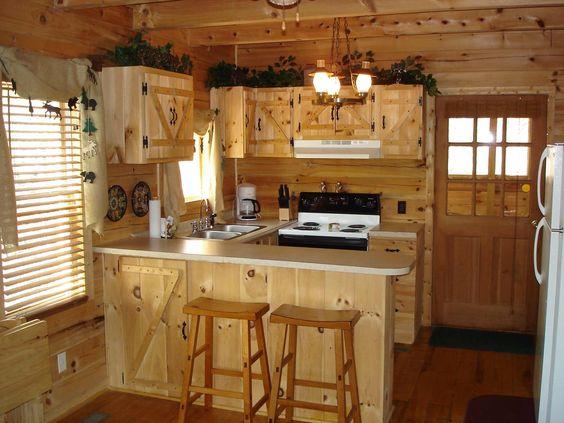 Cocinas Rústicas de madera, piedra, ladrillo y diseños espectaculares