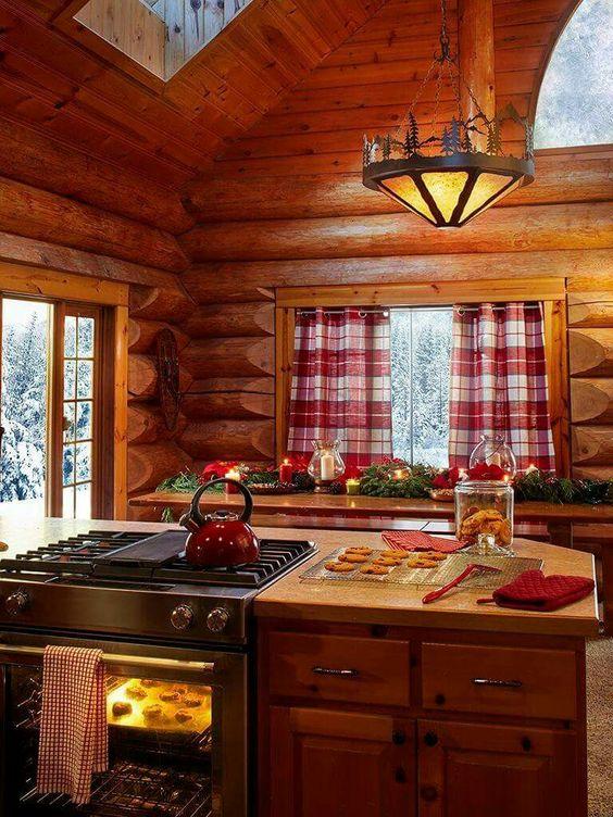 Cocinas r sticas de madera piedra ladrillo y dise os - Fotos cocinas rusticas campo ...