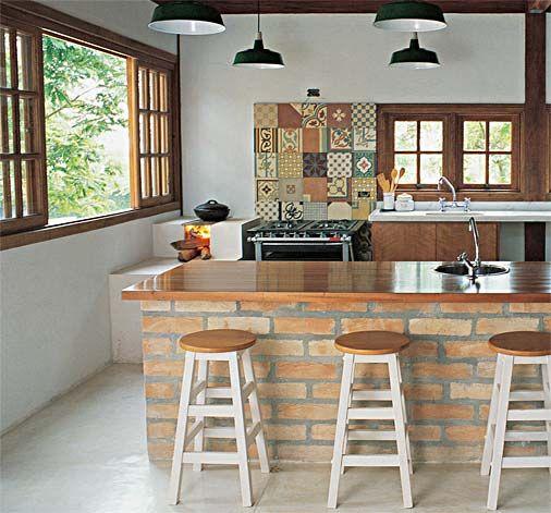 Cocinas Rústicas De Ladrillo (1)