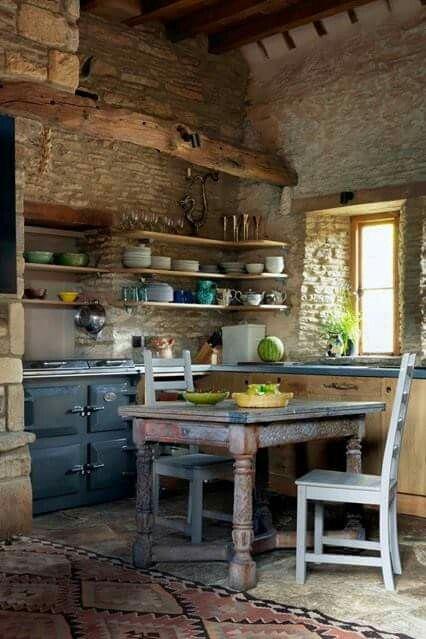 Cocinas Rústicas De Ladrillo (3)